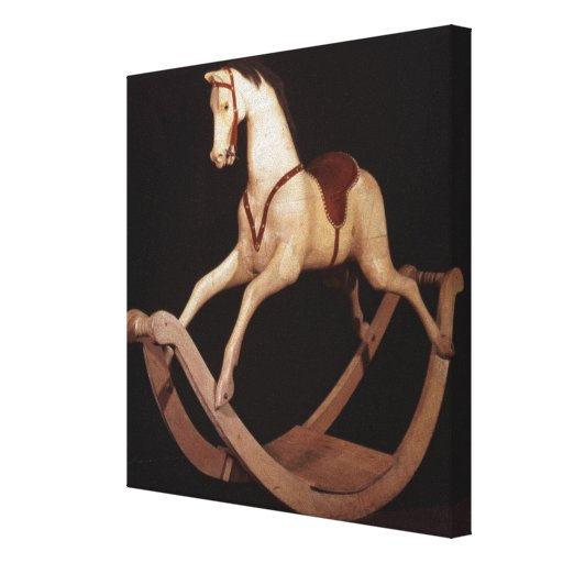 31:Rocking horse, English, 1840 Gallery Wrapped Canvas