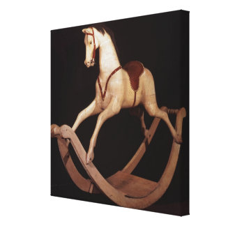 31:Rocking horse, English, 1840 Canvas Print