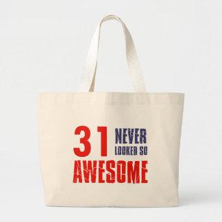 31 year  birthday designs bags