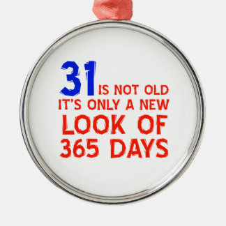 31 years Old birthday designs Christmas Ornament