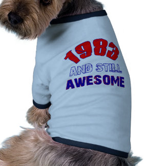31 years Old birthday designs Pet Clothing