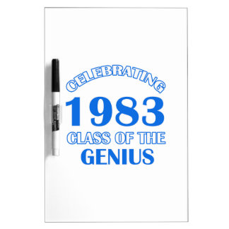 31 years Old birthday designs Dry-Erase Whiteboard