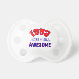 31 years Old birthday designs Pacifiers