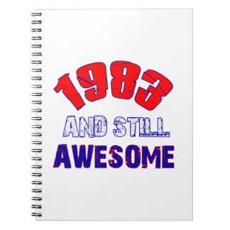 31 years Old birthday designs Spiral Note Book