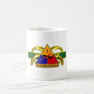 31B 1st Armored Division Classic White Coffee Mug