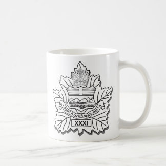 31st Battalion CEF Coffee Mug