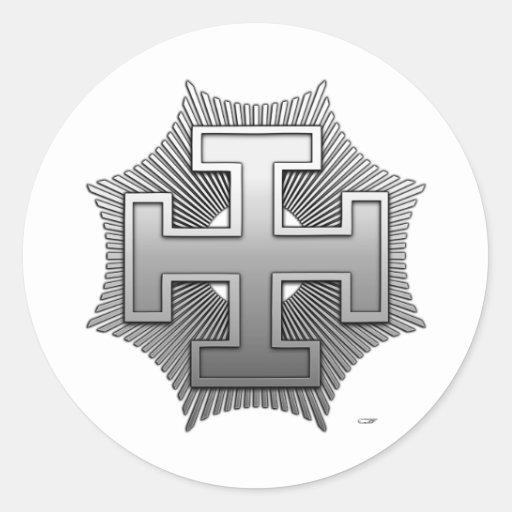 31st Degree: Inspector Inquisitor Round Sticker