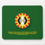 324th Tactical PsycOps Co - TPU DUI Mouse Pad
