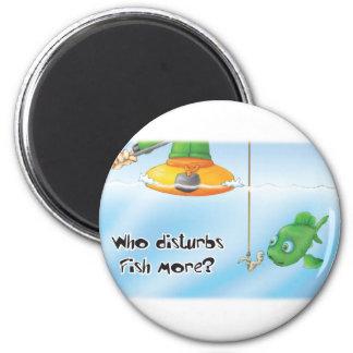 32_fish 6 cm round magnet