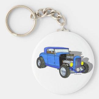 32 Ford HiBoy Roadster – Blue Key Chains