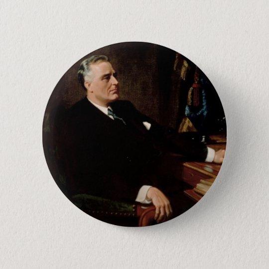 32 Franklin D. Roosevelt 6 Cm Round Badge