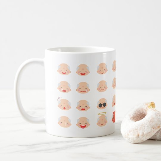 32 GrandPa Emojis Mug