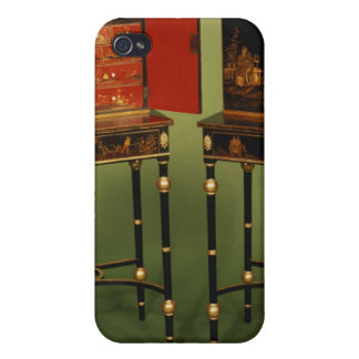 32:Two Chinoiserie cabinets, c.1770 iPhone 4 Case