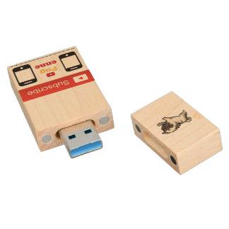 32G Pugenne USB Stick Wood USB Flash Drive