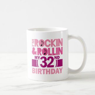 32nd Birthday Gift Idea For Female Coffee Mug