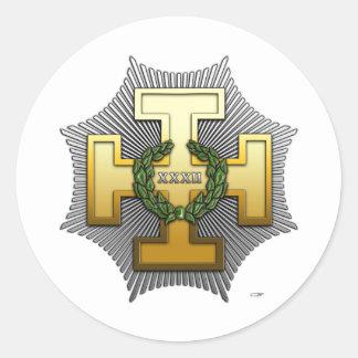 32nd Degree Master of the Royal Secret Sticker