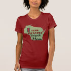 32nd Infantry Brigade with Wisconsin Map T-Shirt