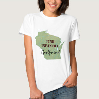 32nd Infantry Wisconsin National Guard Custom T Shirt