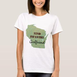 32nd Infantry Wisconsin National Guard Custom T-Shirt