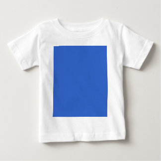 3366CC Solid Blue Background Color Template T-shirt