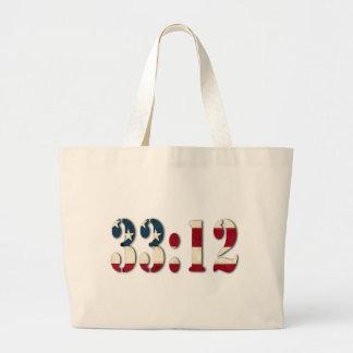 33:12 #1 JUMBO TOTE BAG