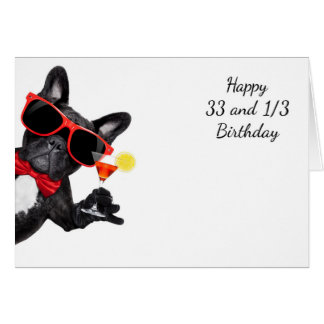 33 1/3 bowtie bowwow card