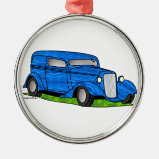 33 Chevy Sedan Delivery Christmas Ornament