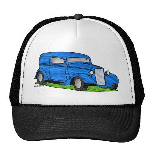 33 Chevy Sedan Delivery Mesh Hats