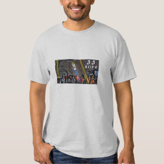 33 Chile Survivers. Shirts