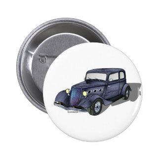 33 Ford Victoria 6 Cm Round Badge