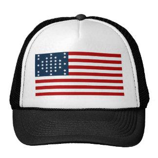 33 Star Fort Sumter American Civil War Flag Cap