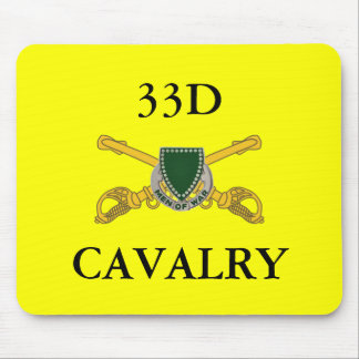 33D CAVALRY MOUSEPAD