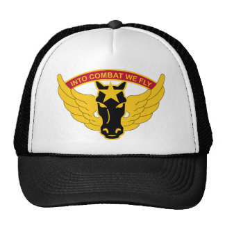 33rd Aviation Battalion - Into Combat We Fly Cap