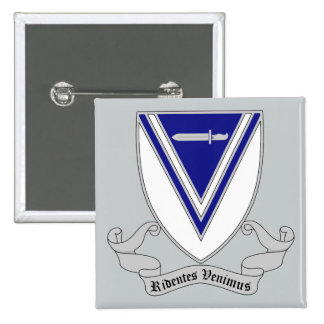 33rd Infantry Regiment - Ridentes Venimus 15 Cm Square Badge