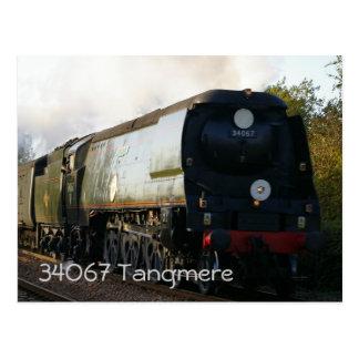"34067 ""Tangmere"" Postcard"