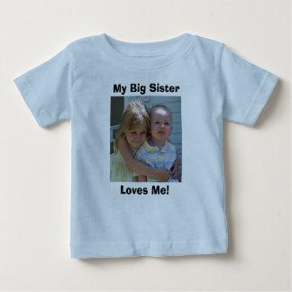 34668328310_0_ALB, My Big Sister, Loves Me! Baby T-Shirt