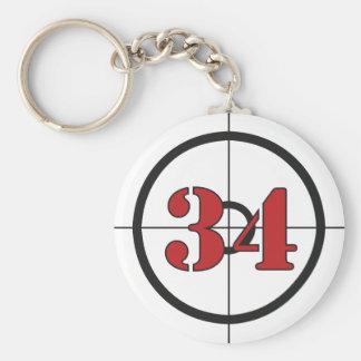 ## 34 ## BASIC ROUND BUTTON KEY RING