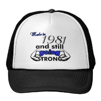 34 birthday design cap