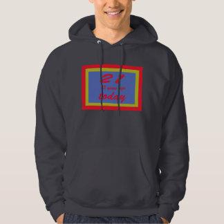 34 birthday hoodie