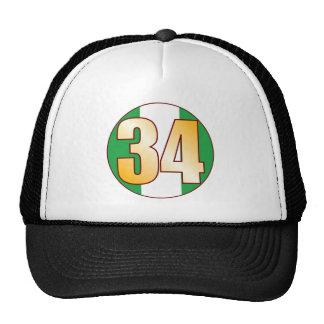 34 NIGERIA Gold Cap