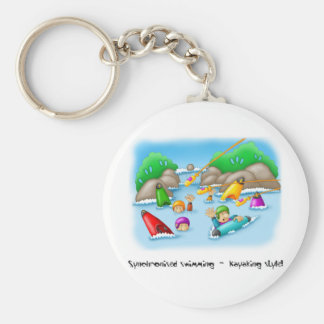 34_rescue basic round button key ring