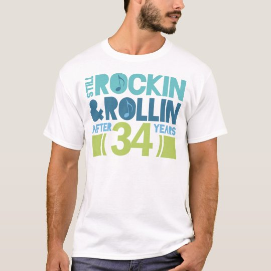 34th Anniversary Wedding Gift T-Shirt