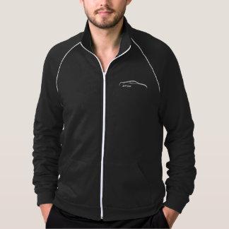 350Z White Silhouette Logo Jacket