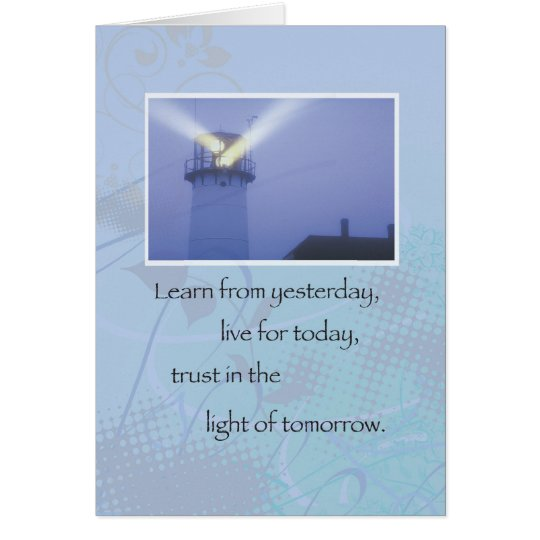 3514 Lighthouse Recovery Support Card