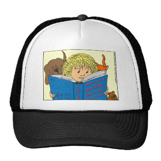 351 Where do dogs and cats come from color cartoon Cap