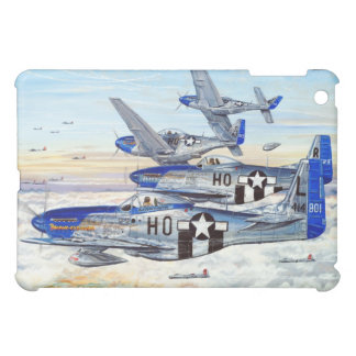 352nd Fighter Group P-51 Mustang fighters iPad Mini Case