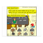 353 Any questions about math colour cartoon