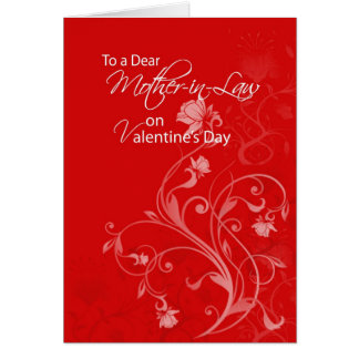 3552 Mother-in-Law Valentine's Day Greeting Cards
