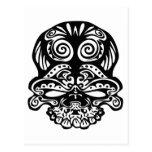 355 Tribal Skull Post Card