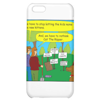 357 Cat the ripper color cartoon iPhone 5C Covers